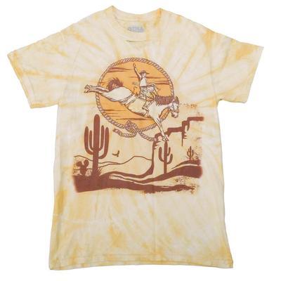 Gina Tees Women's Desert Cowboy T-Shirt
