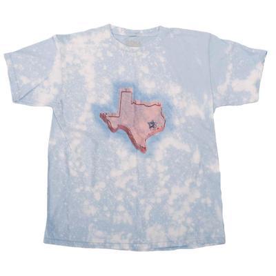 Gina Tees Girl's Pink Texas T-Shirt