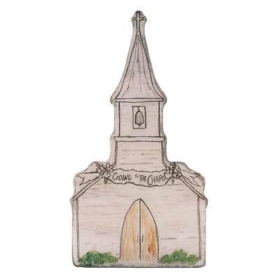 Wedding Chapel Decorative Block Sign