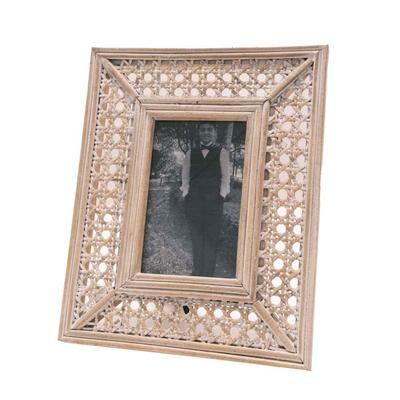 Cane Woven Picture Frame