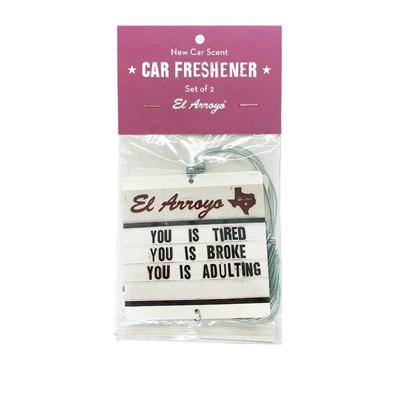 El Arroyo 2 Pack Car Air Freshener