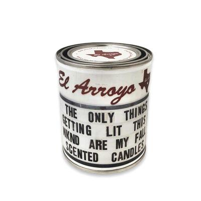 El Arroyo Paint Can Candle