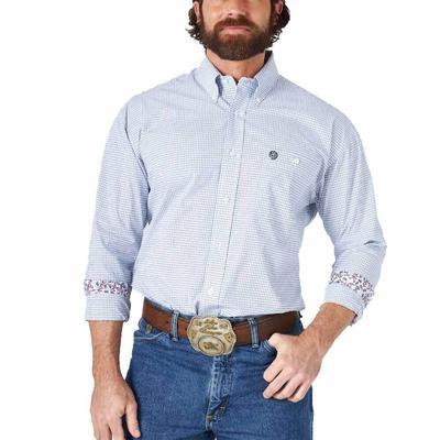 Wrangler Men's George Strait Classic Button Down