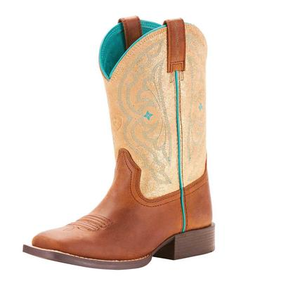 Ariat Youth Gold Quickdraw Western Boots
