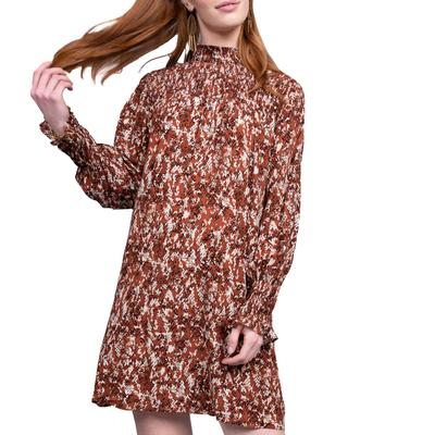 Uncle Frank Women's Snake and Smocking Dress