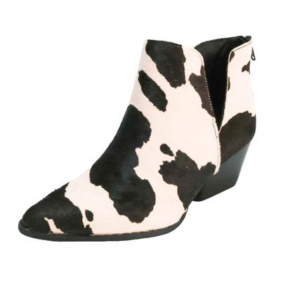 Women's Cow Hair Yuri Ankle Boots