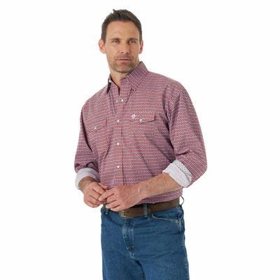 Wrangler Men's George Strait Troubadour Snap Shirt