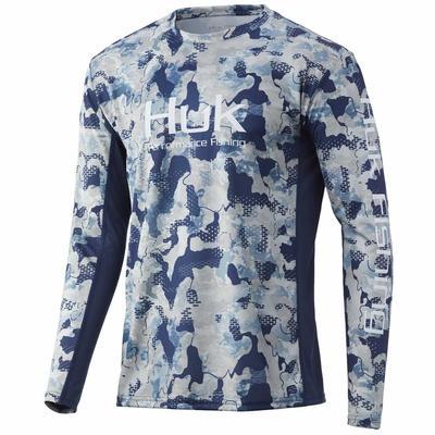 Huk Men's Icon Refraction Shirt