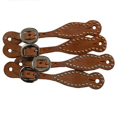 Y Spur Straps With Studs