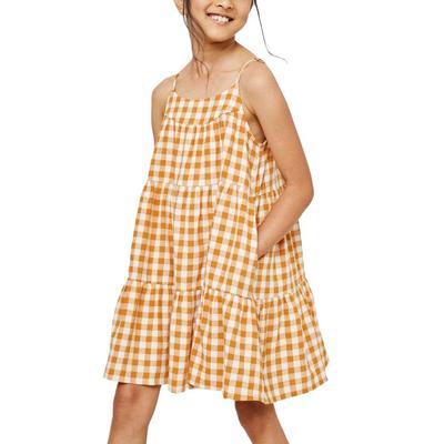 Hayden Girl's Gingham Tiered Dress