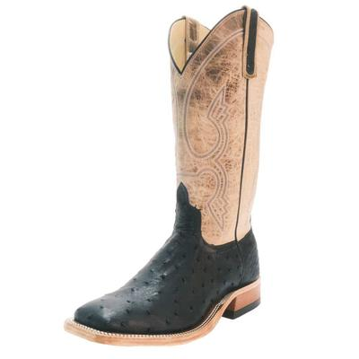 Anderson Bean Men's Black Quill August Western Boots
