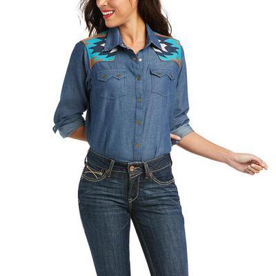 Ariat Women's R.E.A.L.Vivacious Snap Shirt