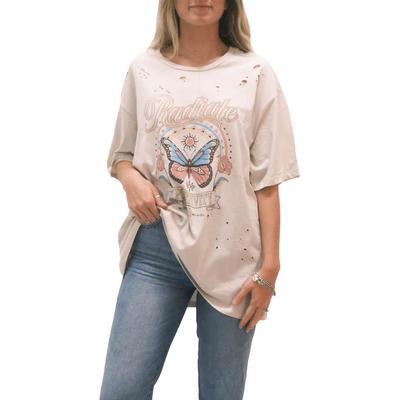 Women's Radiate Positivity Graphic T-Shirt