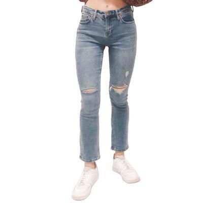 Dear John Women's Blair Cuffed Straight Leg Jeans