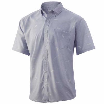 Huk Men's Marsh Teaser Short Sleeve