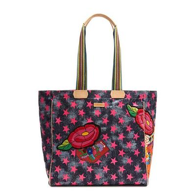 Consuela's Drew Checked Out Tote