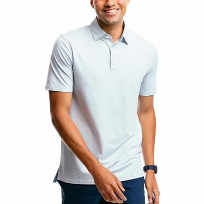 Southern Tide Men's Ryder Geo Print Performance Polo