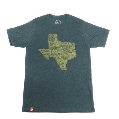 Tumbleweed Texstyles Men's Texas Tons Crew Neck Tee