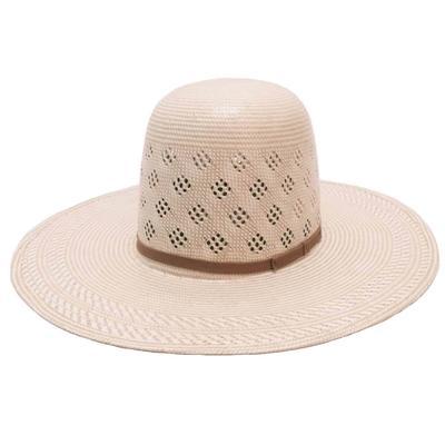American Hat Co.'s Open Crown FZ Straw Hat