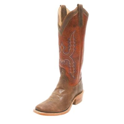 Rios of Mercedes Men's Chili Bison Western Boots