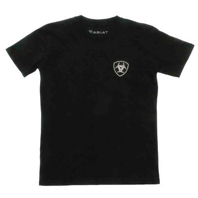 Ariat Boy's Untamable Black T- Shirt