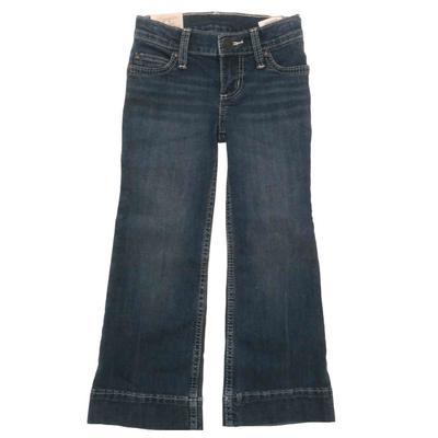 Wrangler Girl's Western Trouser Jeans