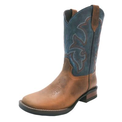 Roper Youth Burnished Vamp Western Boots
