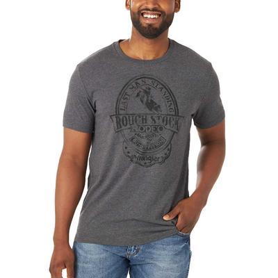 Wrangler Men's Tonal Bull Rider Graphic T-Shirt