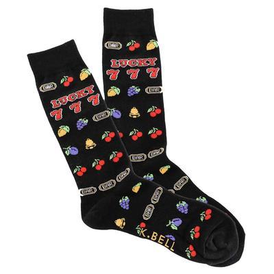 Men's Slot Machine Crew Socks