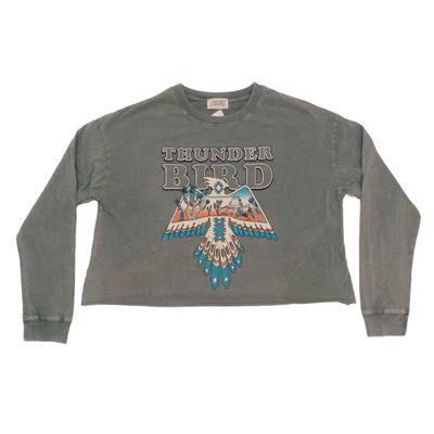 Women's Thunderbird Graphic Cropped T-Shirt