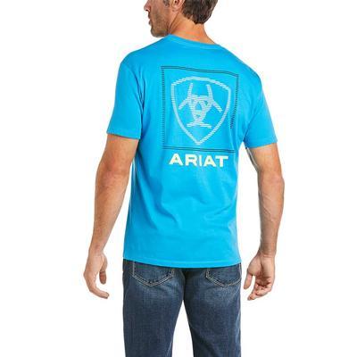 Ariat Men's Short SLeeve Linear Tee
