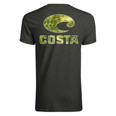 Costa Men's Short Sleeve Mossy Oak Costal T-Shirt