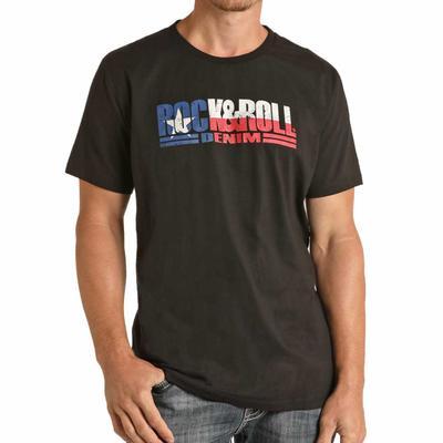 Rock & Roll Texas Short Sleeve Graphic T-Shirt
