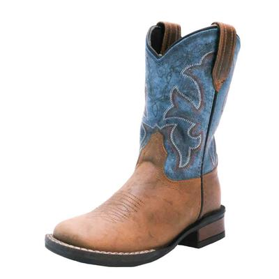 Roper Youth Vintage Blue Western Boots