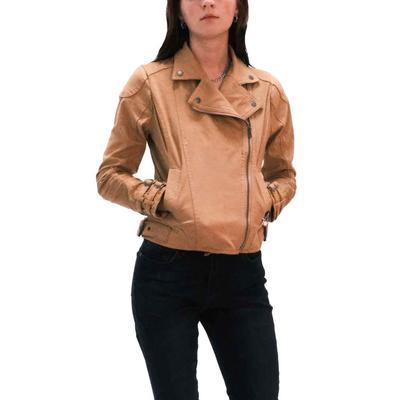 Dear John Women's Suede Buckle Sleeve Jacket