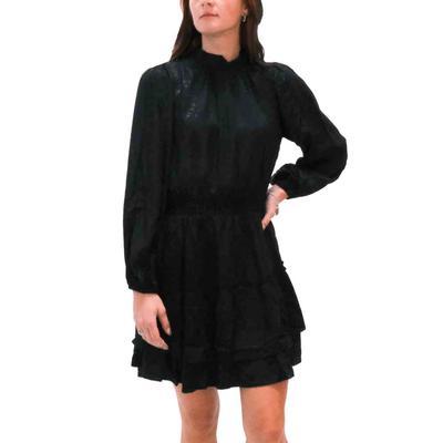 Joy Joy Women's Tiered Mini Dress