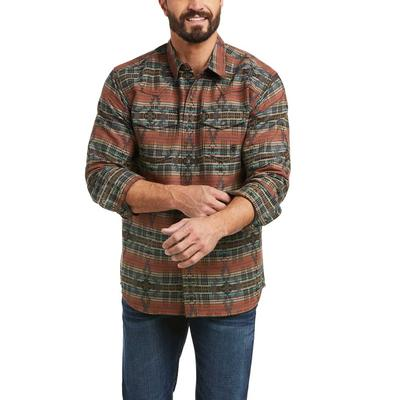 Ariat Men's Hutchinson Retro Fit Snap Shirt