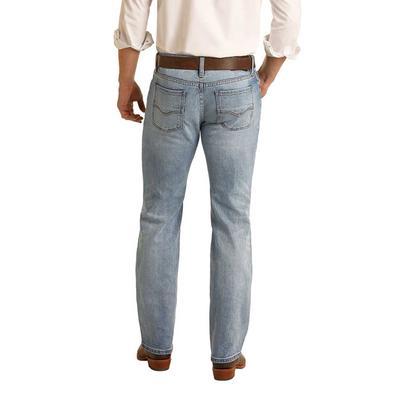 Rock & Roll Men's Pistol Straight Leg Jeans