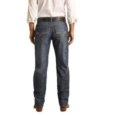 Rock & Roll men's Double Barrel Stackable Jeans