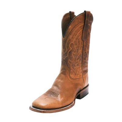 Circle G Men's Brown Embroidered Western Boots