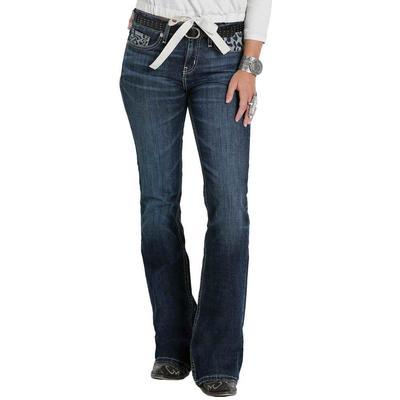 Cinch Women's Hannah Rinse Bootcut Jeans