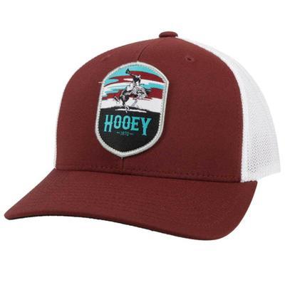 Hooey Men's Cheyenne Maroon Trucker Cap