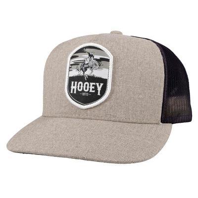 Hooey Men's Cheyenne 5 Panel Tan Trucker Cap
