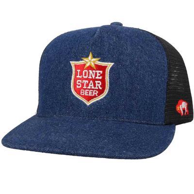 Hooey Men's Lonestar Denim Trucker Cap
