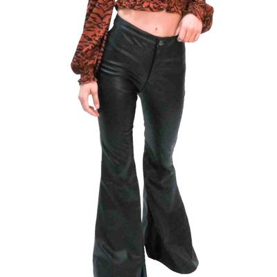 Buddy Love Women's Simpson Leather Flare Pants