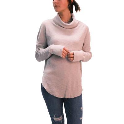 Dylan Women's Slub Waffle Knit Sweater