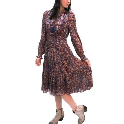 Jade Women's Tie Front Midi Dress