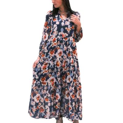 Jade Women's Tiered Maxi Dress