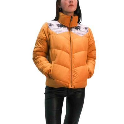 Cinch Women's Gold Puffer Jacket