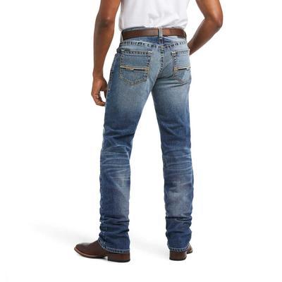 Ariat Men's M4 Low Rise Longspur Stackable Straight Leg Jeans